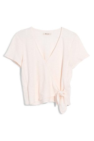 Madewell | Texture & Thread Wrap Top (Regular & Plus Size) | Nordstrom Rack