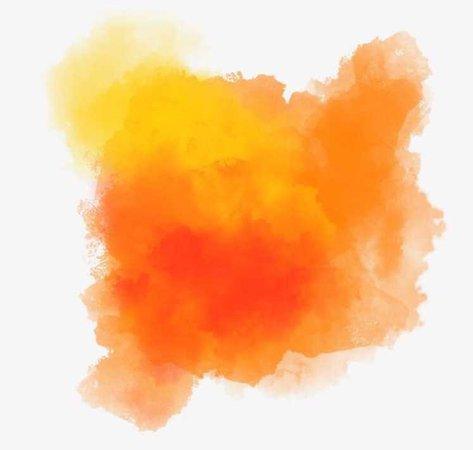 Orange Watercolour