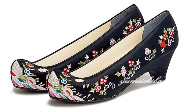 Rakuten Korean hanbok dress shoes 10 black long embroidered ggosin ¥3,948 JPY