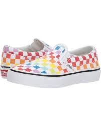 rainbow checkered vans - Google Search