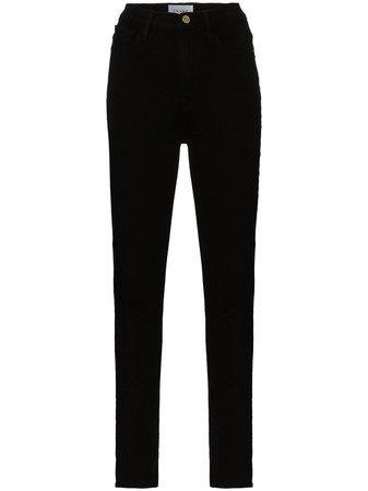 FRAME Ali high-rise Skinny Jeans - Farfetch