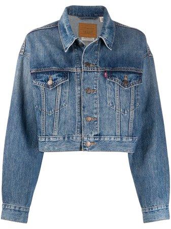 Levi's Cropped Denim Jacket - Farfetch