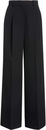 Brock Collection Raul Wool Wide-Leg Trousers
