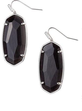 Faceted Elle Drop Earrings