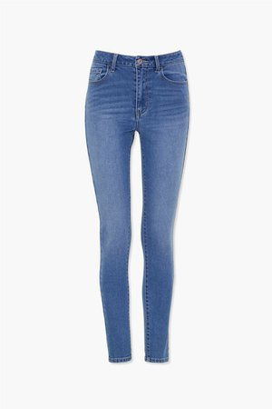 Mid-Rise Skinny Jeans