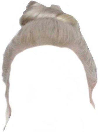 blonde bun
