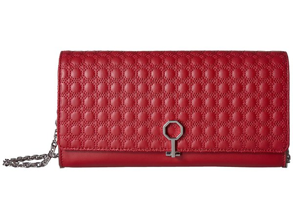 Louise et Cie - Yvet Clutch (Cherry Red) Clutch Handbags
