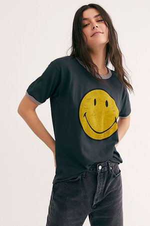 Classic Smiley Ringer Tee | Free People