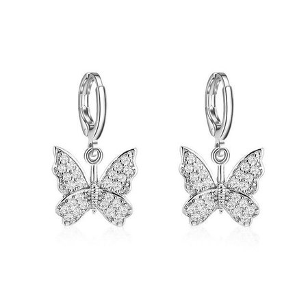 Butterfly Dangle Earrings | Own Saviour