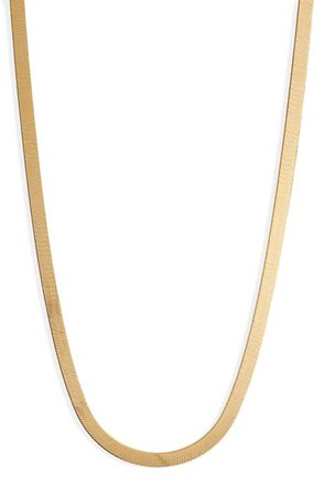 Argento Vivo Herringbone Chain Necklace | Nordstrom
