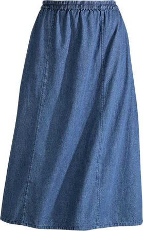 Denim Skirt | 6-Gore Skirt