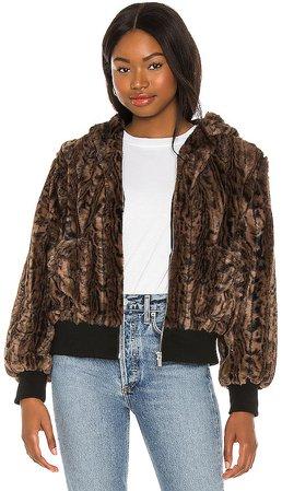 Faux Fur Fuzzy Jacket