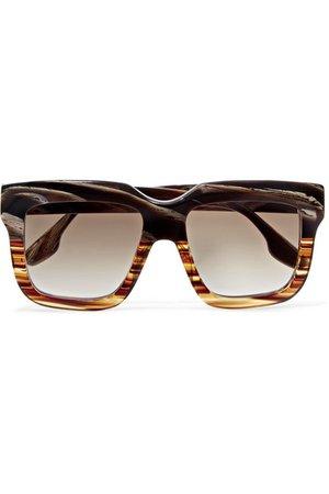 Victoria Beckham | Oversized square-frame acetate sunglasses | NET-A-PORTER.COM