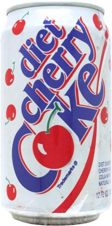 COCA-COLA-Cherry cola (diet)-355mL-United States