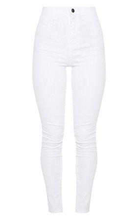 Mid Wash Disco Fit Skinny Jean | Denim | PrettyLittleThing USA