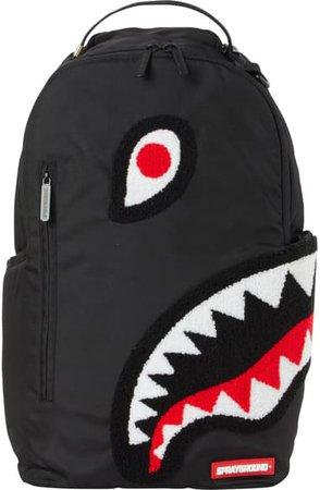 Sprayground Torpedo Shark Fuzzy Backpack (Kid) | Nordstrom