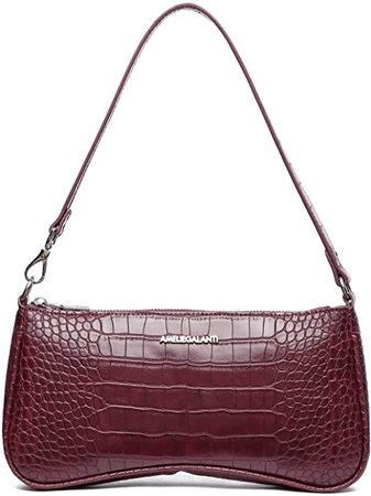 Shoulder Bags for Women, Purses and Handbags, Shoulder Clutch with Vegan Leather (Black-01): Handbags: Amazon.com