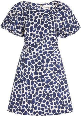 Cara Cara Bedford Sleeve Short Dress