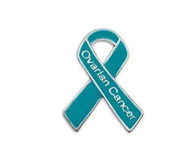 ovarian cancer awareness pin