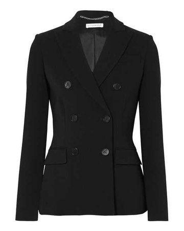 Lyst - Altuzarra Indiana Double-breasted Cady Blazer in Black
