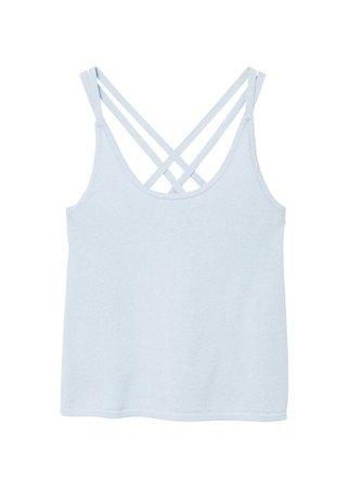 MANGO Organic cotton strap t-shirt