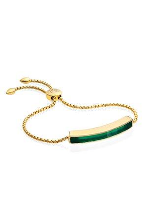 Monica Vinader Engravable Baja Stone Bracelet | Nordstrom