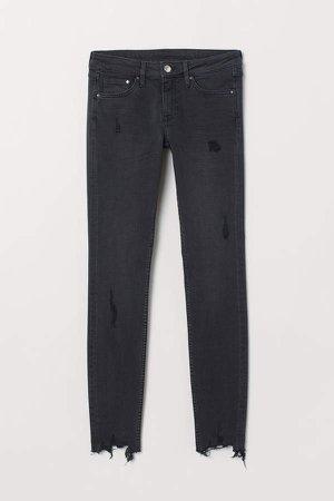 Super Skinny Low Jeans - Black