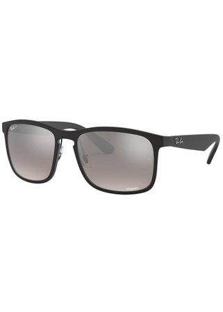 Gucci Polarized Square Acetate Sunglasses, Gray - Bergdorf Goodman