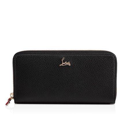Panettone Wallet Black Calfskin - Accessories - Christian Louboutin