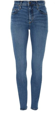 Cult High-Rise Cropped Skinny Jeans
