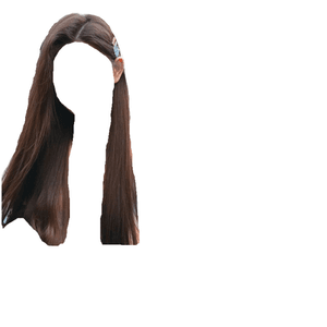 brown hair png clips