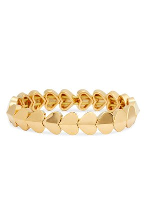 kate spade new york heart stretch bracelet | Nordstrom