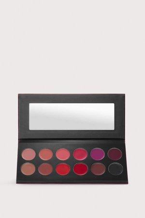 Lip Color Palette - Red