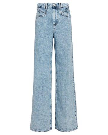 Isabel Marant Lemony Wide-Leg Jeans | INTERMIX®