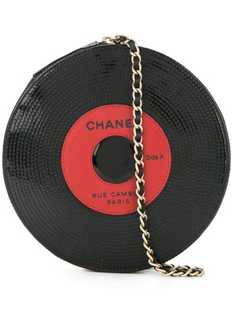 Chanel Pre-Owned 2003-2004 Sequinned Vinyl Bag - Farfetch