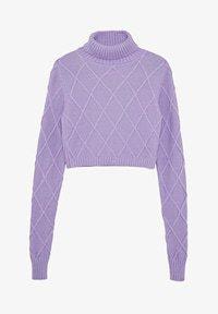 Pepe Jeans DUA LIPA X PEPE JEANS - Strickpullover - violet - Zalando.at