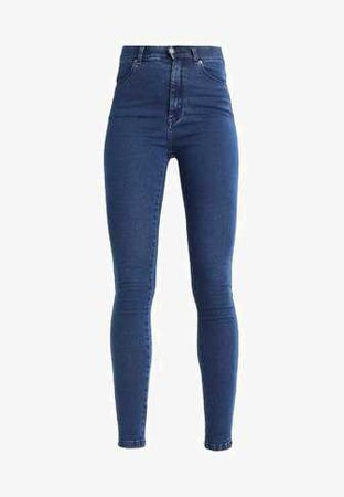 Dr.Denim MOXY - Jeans Skinny Fit - pure dark blue - Zalando.co.uk