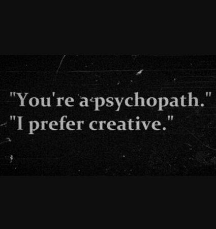 grunge psycho aesthetic