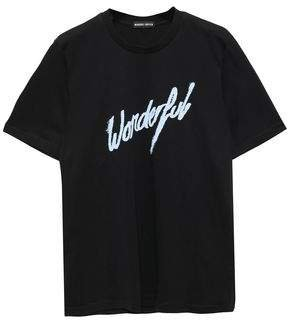 Alex Printed Cotton-jersey T-shirt