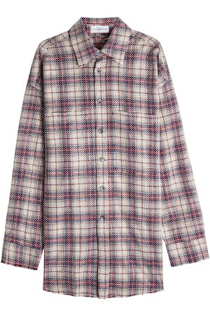Checked Cotton Shirt Gr. S