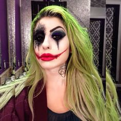 Female Joker Makeup Ideas | Saubhaya Makeup