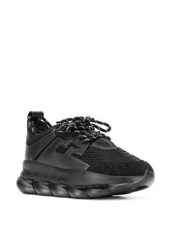 Versace Chain Reaction Sneakers | Farfetch.com