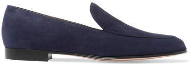 Marcel Suede Loafers - Navy