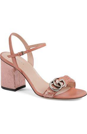 Gucci GG Sequin Sandal (Women)   Nordstrom