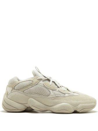 "Adidas YEEZY Yeezy 500 ""Blush/Desert Rat"" Sneakers - Farfetch"