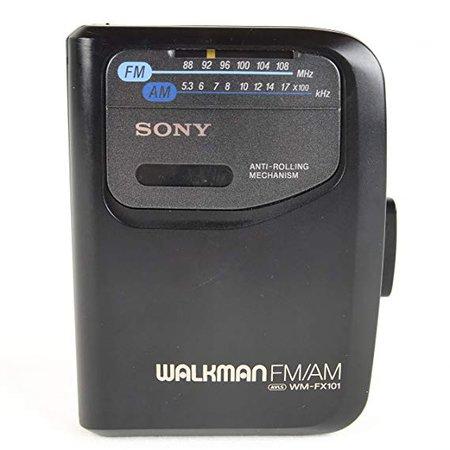 Amazon.com: Sony Corp. Sony Anti-Rolling Mechanism Sony Walkman FM/AM AVLS WM-FX101 Radio Cassette Tape Player Model# WM-FX101: Office Products