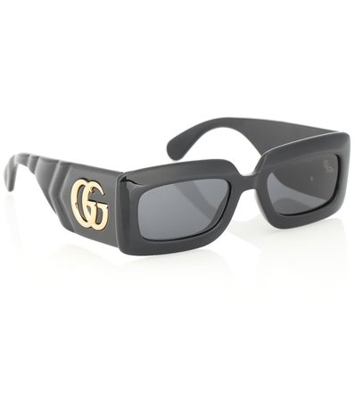 Double G Rectangular Sunglasses   Gucci - Mytheresa