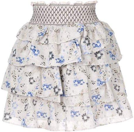 Aje ruffle skirt