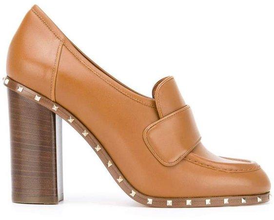 Soul Rockstud loafer pumps