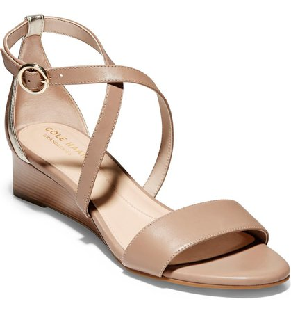 Cole Haan Hollie Wedge Sandal (Women) | Nordstrom